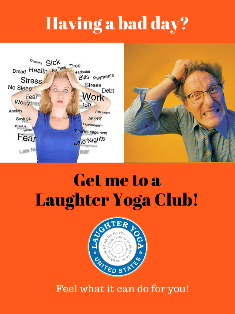 Get me to a Laughter YogaClub! (1)
