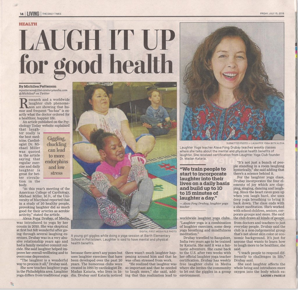 Alexa -LY Daily Times article July 15, 2016