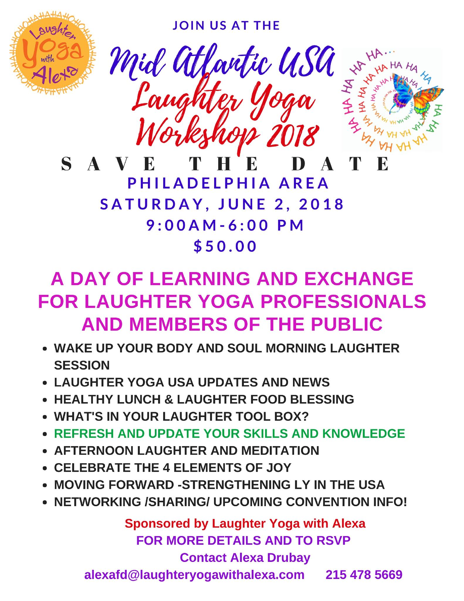 20 Laughter Yoga Exercises